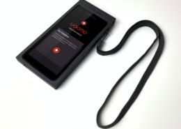Phone with usomo display