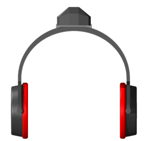 Kopfhörer mit Tracking Modul