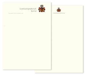 GKG Briefausstattung