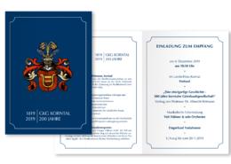 Einladung 200-Jahrfeier